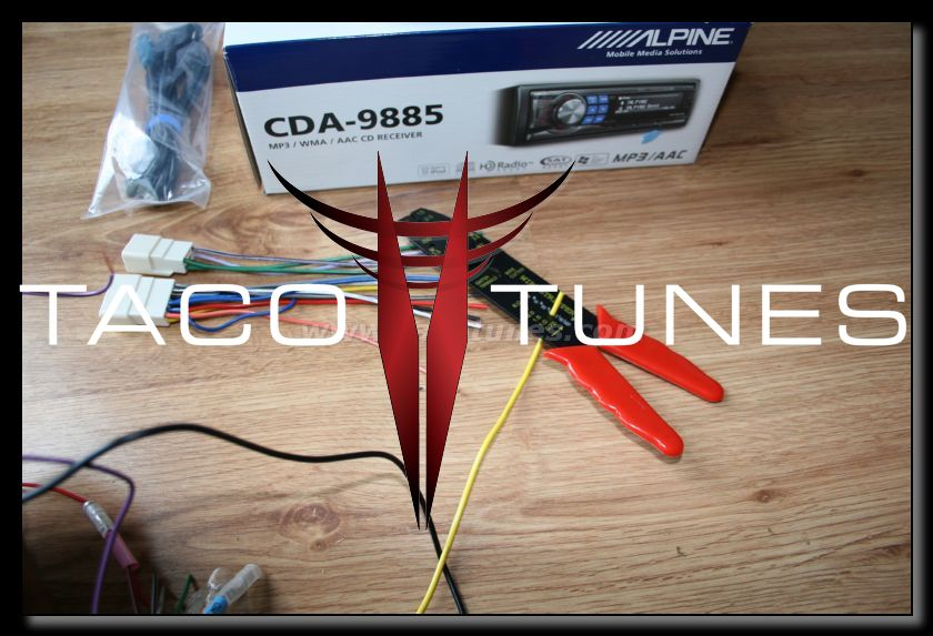 How to wire your 2007 Toyota Tacoma amplifier