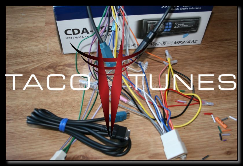 How to wire your 2009 Toyota Tacoma component speaker