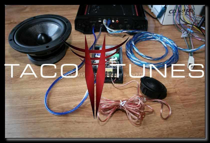 How to wire your 2006 Toyota Tacoma tweeters