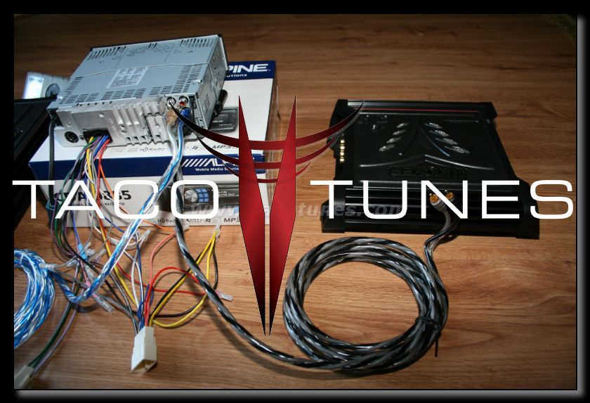 wire your 2006 Toyota Tacoma subwoofers