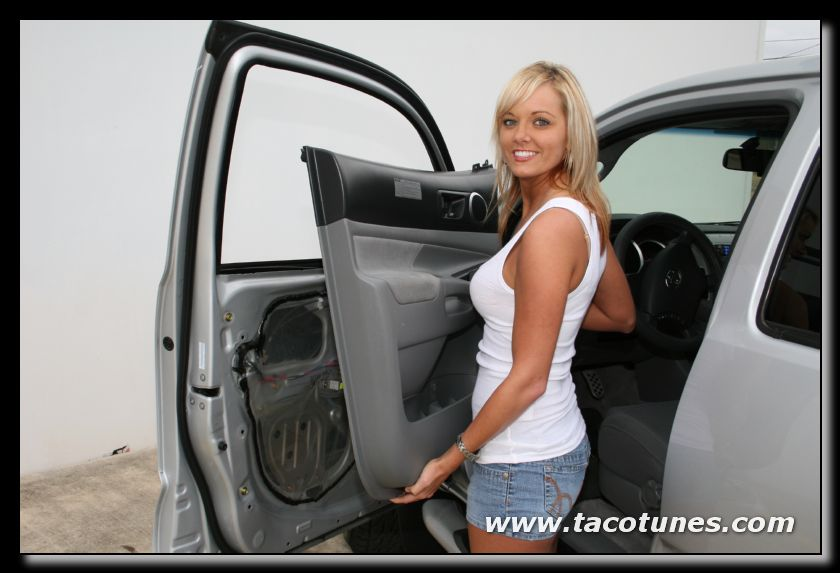 How to remove and install car speaker in 2005-2012 Toyota Tacoma 7