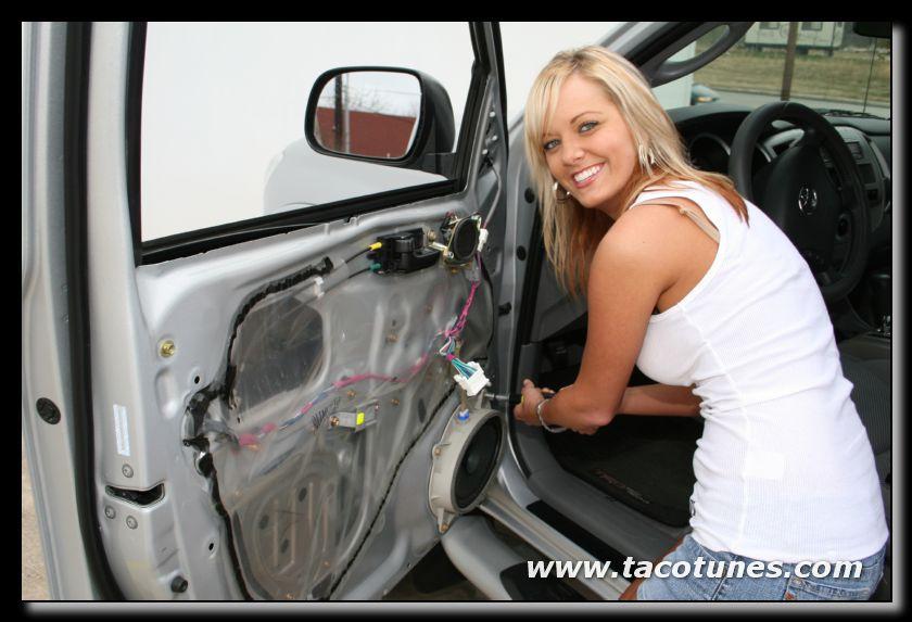 car speaker removal