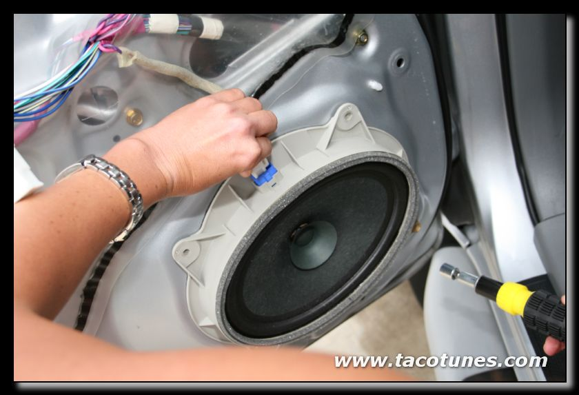 toyota speaker installation 3